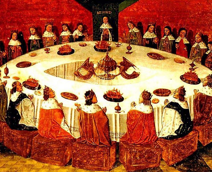 Ronde Tafel koning Arthur - Michel Gantelet 1472