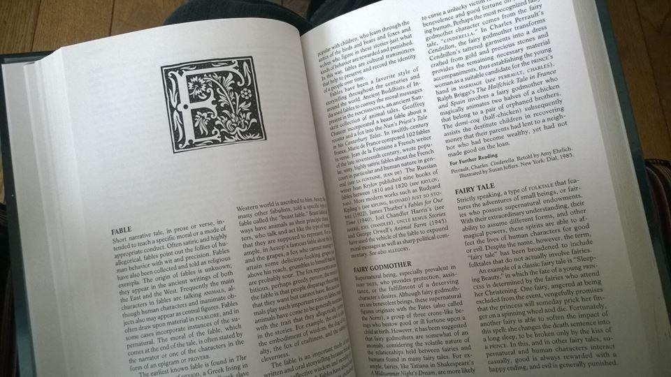 Storytelling Encyclopaedia hoofdstuk