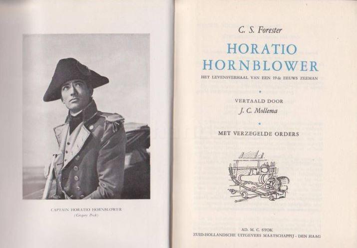 Boek van Horatio Hornblower